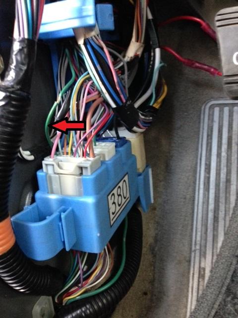 2004 Tundra Wiring Diagram Brake Light Wire Location In Driver Kick Panel Club