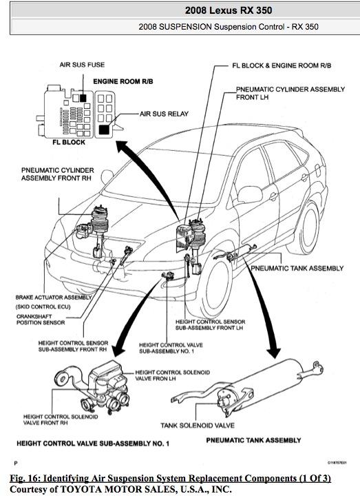toyota wiring diagram radio 2008 tao 110 atv location if air suspension parts - clublexus lexus forum discussion