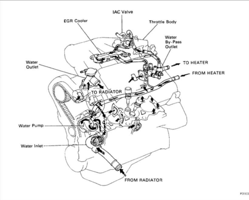 2006 lexus gs300 engine diagram