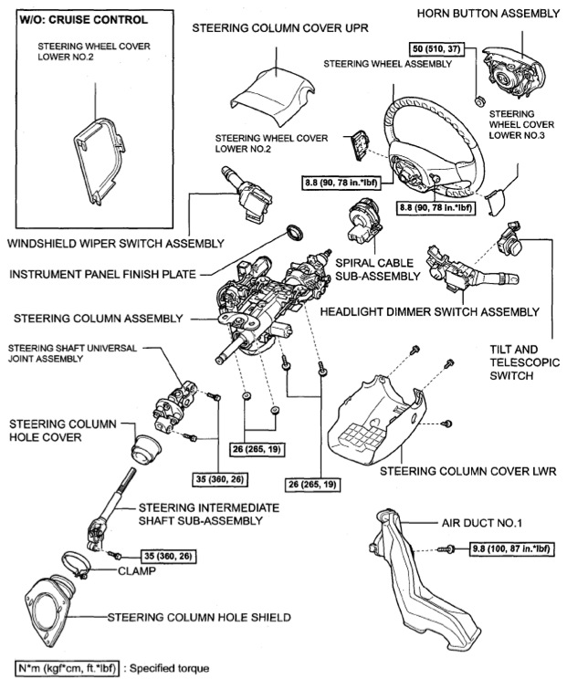 Service manual [Remove 2010 Lexus Rx Hybrid Steering