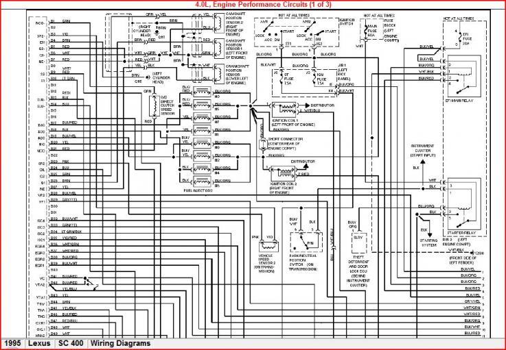 1uzfe Engine Wiring Diagram