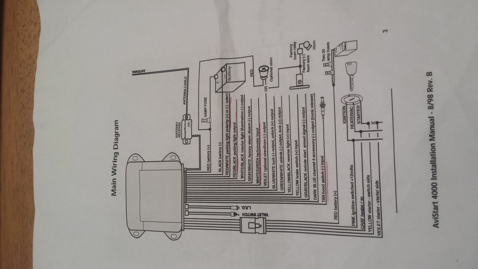 hight resolution of viper 300 alarm schematic wiring diagram list