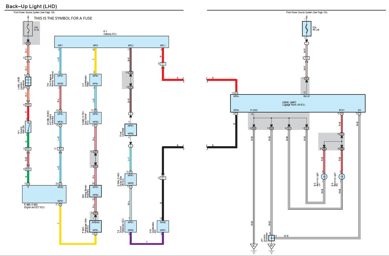 hight resolution of  backup lights fuse backup light wiring diagram png
