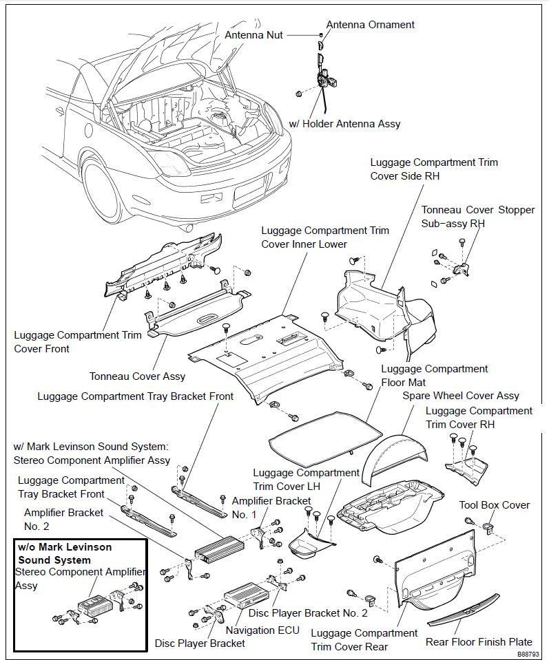 2019 toyota mr2: 1987 toyota mr2 antenna wiring schematic