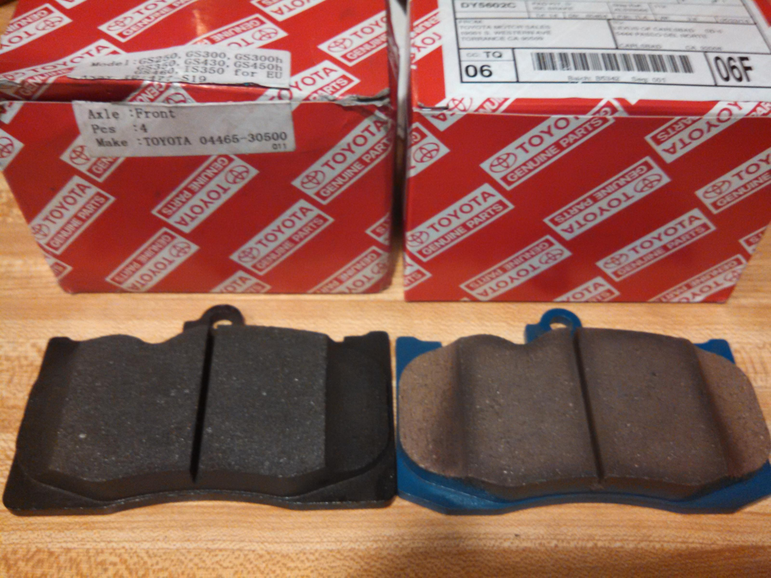 Any re mendations on brake pads with low dust for is350 Page 2
