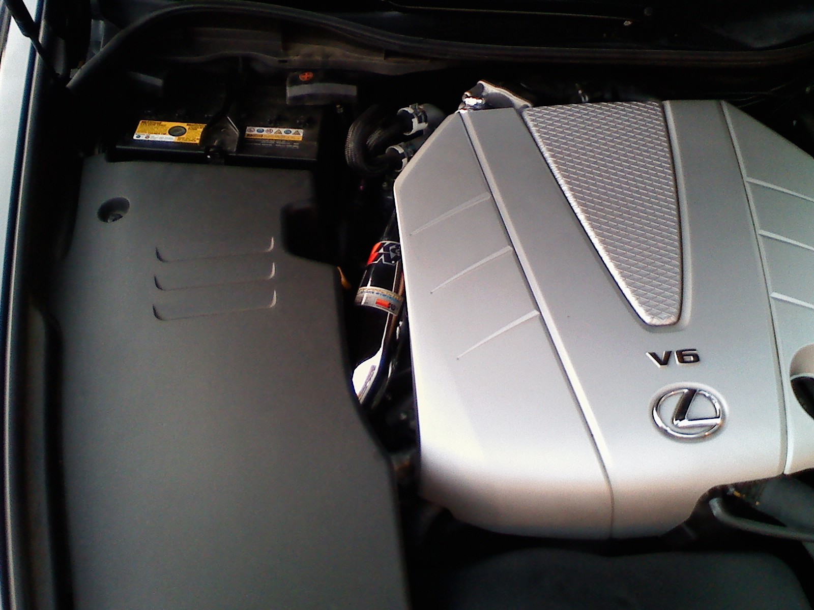 Finished my K&N intake on my Gs350 - ClubLexus - Lexus Forum Discussion