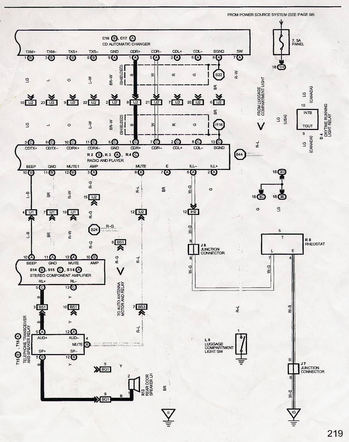 1999 Lexu Ls400 Navigation Wiring Diagram