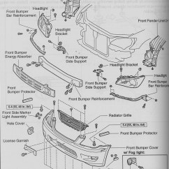 2001 Mustang Parts Diagram Muscles Of The Trunk 2006 Front Bumper 33 Wiring