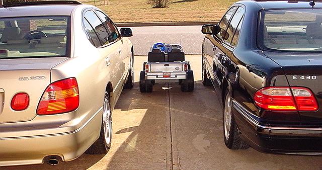 Ivory 2001 Mercedes Benz E430 Black Java 2001 Power Wheels Chevrolet