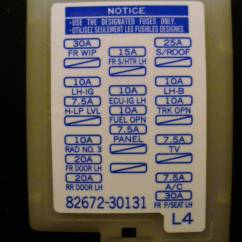 2007 Toyota Yaris Radio Wiring Diagram Electric Bike Where's The Fuse For Radio/nav Located?? - Club Lexus Forums