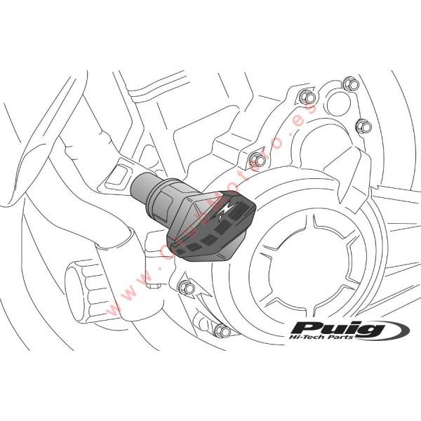 Protectores de motor R12 PUIG Ducati Monster 696 / 796