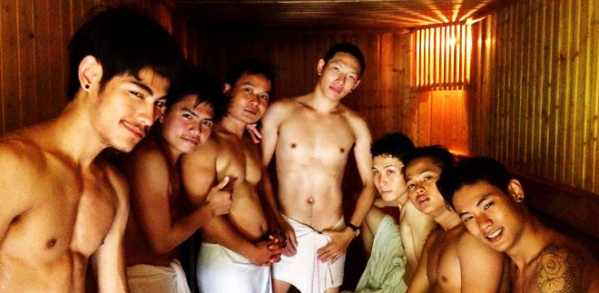 Club One Seven Chiang Mai  Gay Guesthouse Sauna Gym Spa