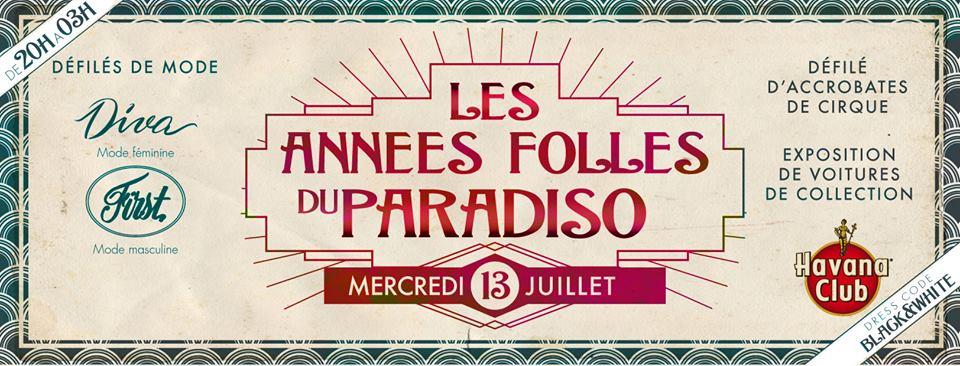 Les Années Folles du Paradiso !