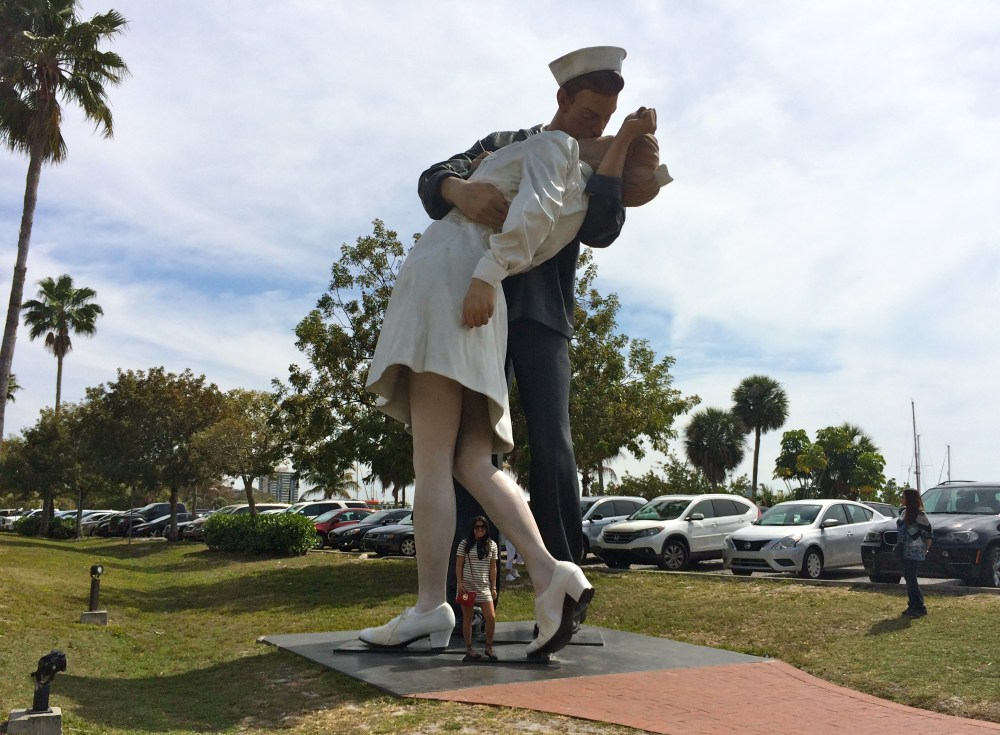 Unconditional Surrender by sculptor J. Seward Johnson