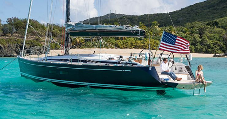 Swan 54 And ClubSwan 50 Showcasing Bluewater Cruising And Cutting Edge Racing At Annapolis Sail