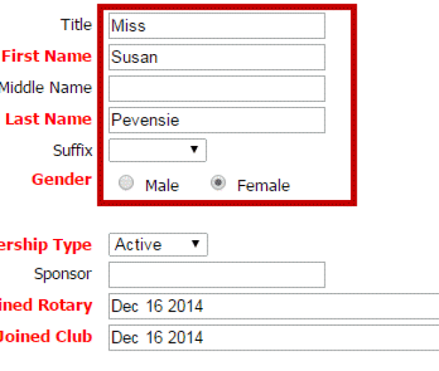 Now Set The Membership Type This Can Be An Active Member Honorary Or A Custom Type Next Indicate Whether The Member Has A Sponsor