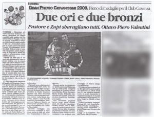 """tratto da """"Il Quotidiano della Calabria"""" - 6 Novembre 2008"""