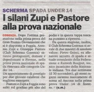 """tratto dalla """"Gazzetta del Sud"""" - 16 Novembre 2007"""