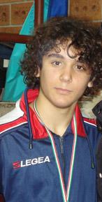 Giuseppe Pastore del Club Scherma Cosenza