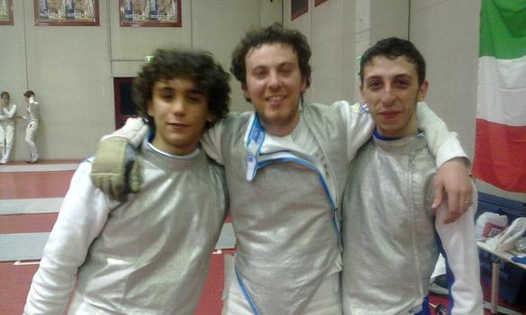 Squadra fioretto Terni 2010