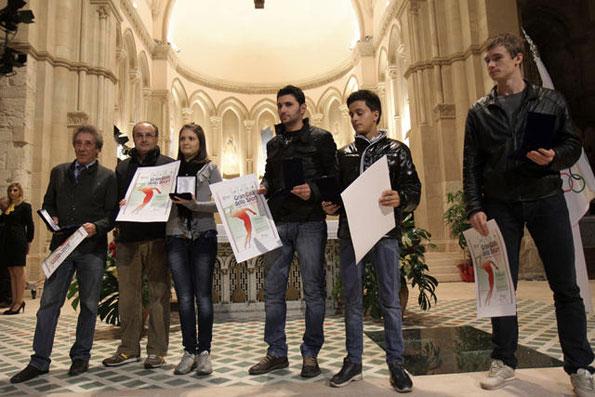 Martina Caldeo premiata al Duomo di Cosenza