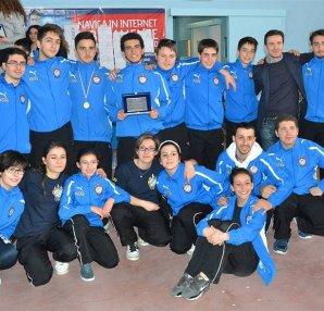 Club Scherma Cosenza foto gruppo gara Rogliano 2014