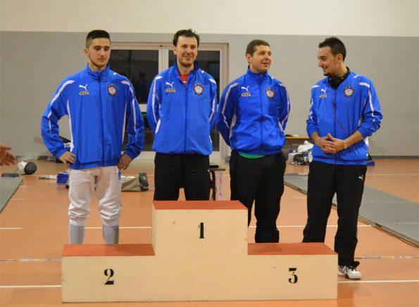 Premiazione Fioretto maschile Coppa Calabria 2014