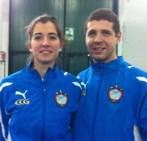 Francesca Tessari e Marco Perri nella gara di Pesaro