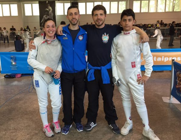 Aiello e Fusaro, Campionati Italiani GPG a Riccione 2015