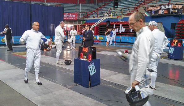 Monteforte in pedana ai campionati italiani Master