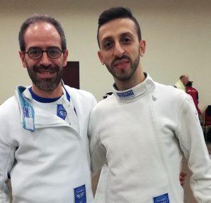 Francesco La Regina e Paolo Bruno, prova Master Caserta