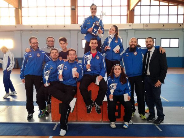 Club Scherma Cosenza, gara regionale S.Stefano Rogliano 2016