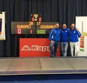 Perri, Monteforte, La Regina, Europei Master