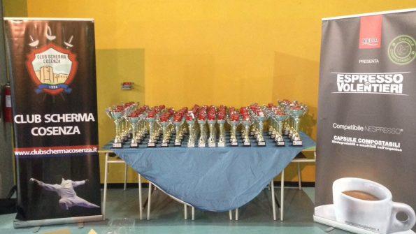 Coppe e premi Trofeo Caffè Aiello 2017