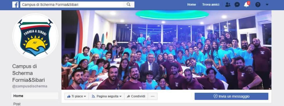 Campus Scherma Formia & Sibari su Facebook