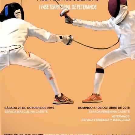 Campionato Cadetti Spagnolo: la locandina della prima prova