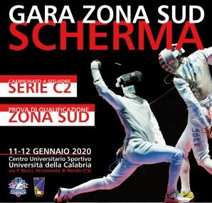 Scherma a Cosenza: Prova Zona Sud 2020