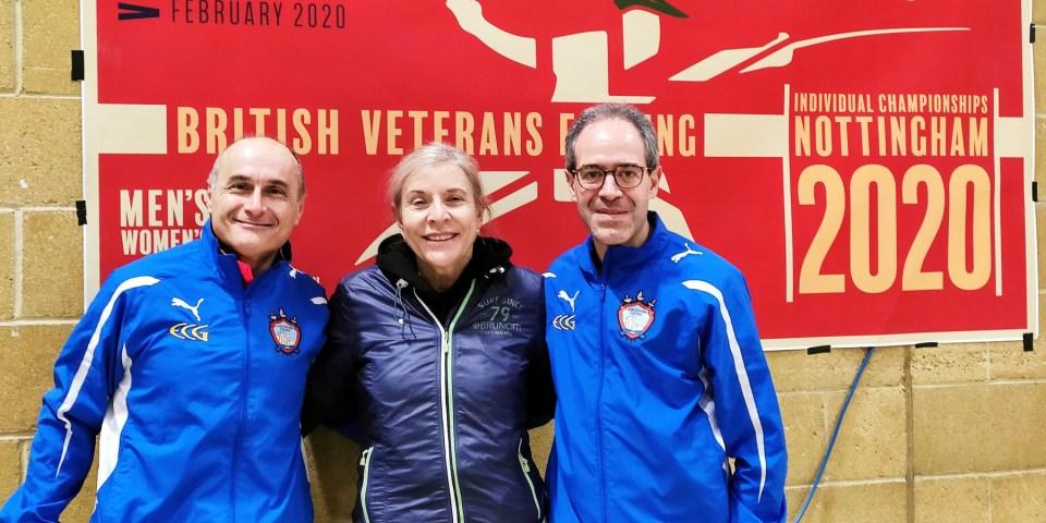 Circuito Europeo Master a Londra: Monteforte e La Regina