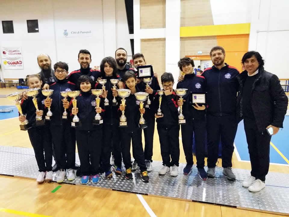 Campionato Regionale GPG 2020: alcuni dei premiati