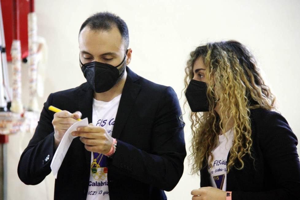 Trofeo FIS Calabria a coppie miste: Mattia Angotti e Claudia Aiello