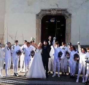 Paolo Bruno e Martina Caldeo oggi sposi