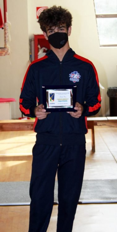 Titoli regionali GPG 2020/21: Mattia Urso, campione Spada cat. Ragazzi
