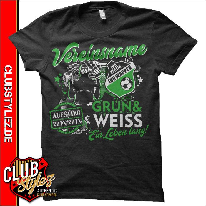 aufstiegs-t-shirts-drucken-gruen-weiss