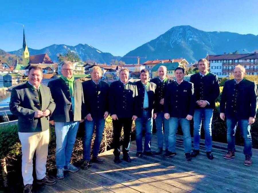 Vorstandschaft Club Tegernsee 2020