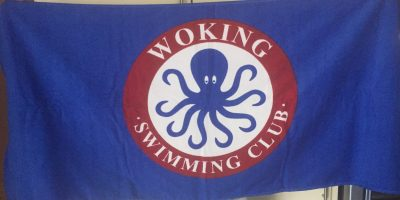 Woking Swimming Club Branded Towel