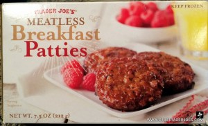 Meatless Breakfast Patties