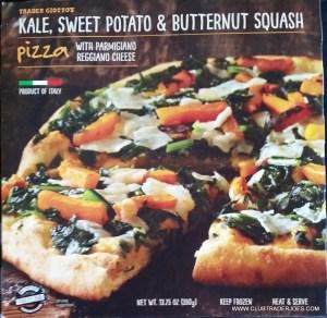 Kale, Sweet Potato and Butternut Squash Pizza