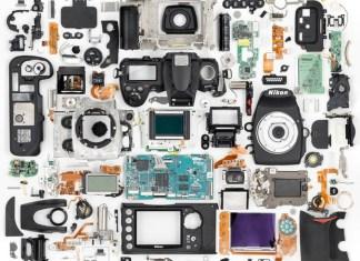 Nikon D700 dezmembrat