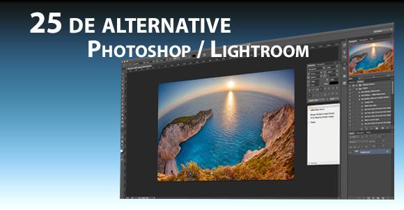 25 de alternative la Adobe Photoshop / Lightroom