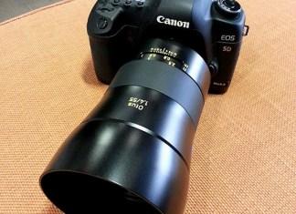 Zeiss Otus 55mm f/1.4 pe Canon 5D Mark II